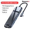 Hub chuyển đa năng Baseus Superlative Multifunctional 5 in 1 (Type-C to 3xUSB3.0+HDMI+PD)