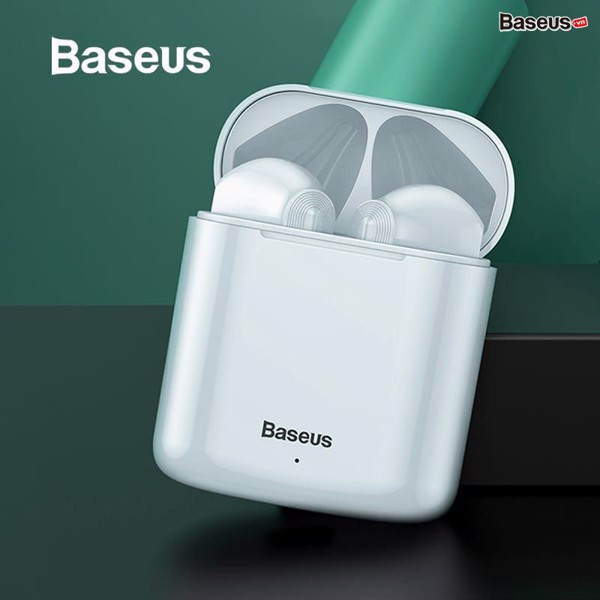 Tai nghe không dây cảm ứng Baseus Encok W09 True Wireless Earphones ( TWS, Intelligent Touch Control, Stereo Bass, Smart Connect)