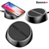 Đế sạc nhanh không dây Baseus Wireless Charger LV313 tích hợp 3 cổng sạc USB 3.4A cho iPhone/ Samsung/Xiaomi (10W,Qi Wireless Quick Charger with 3 USB Ports 3.4A)