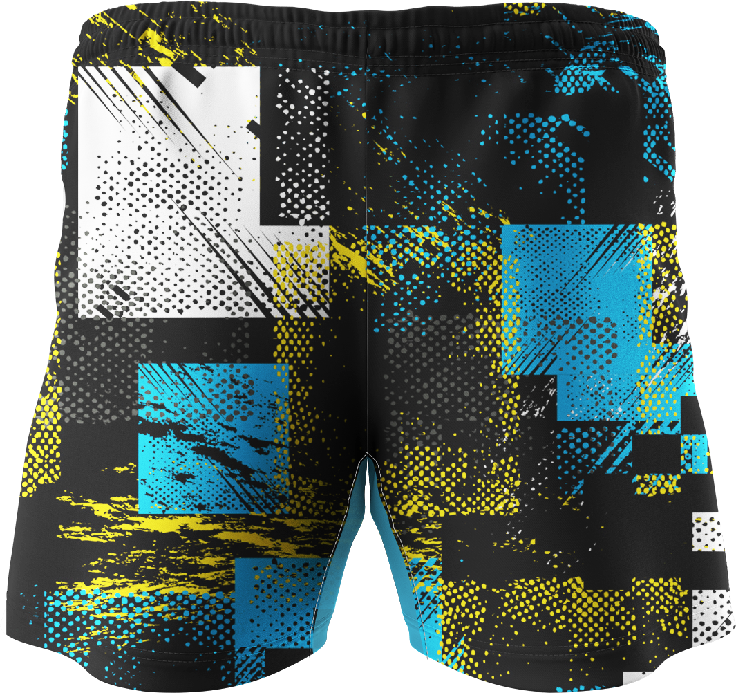 Quần Short Thể Thao SLight Abstract Printed S011