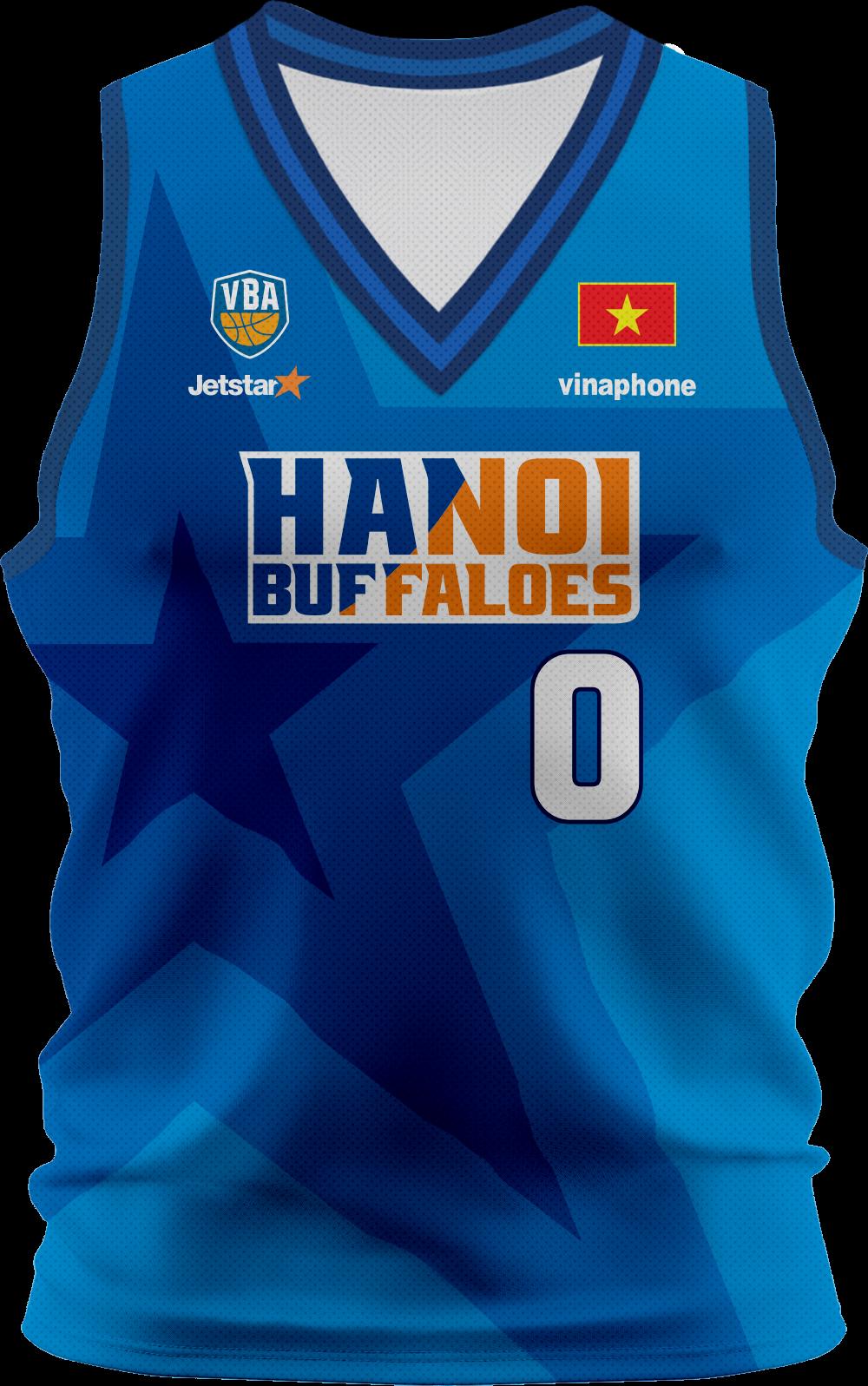 Áo đấu bóng rổ Hanoi Buffaloes HNB02