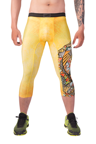 Mens 3/4 tights SaberCat BT02