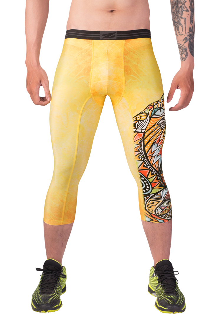 Mens 3/4 tights SaberCat