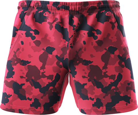Quần Short Thể Thao Red Camo S011