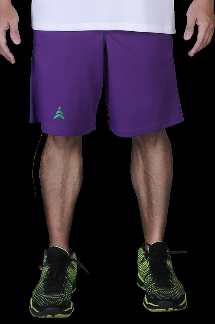 Quần thể thao bóng rổ Purple S004