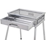 Bếp nướng Coleman 3-4 người - 170-9309 - Cool Spider Stainless Grill
