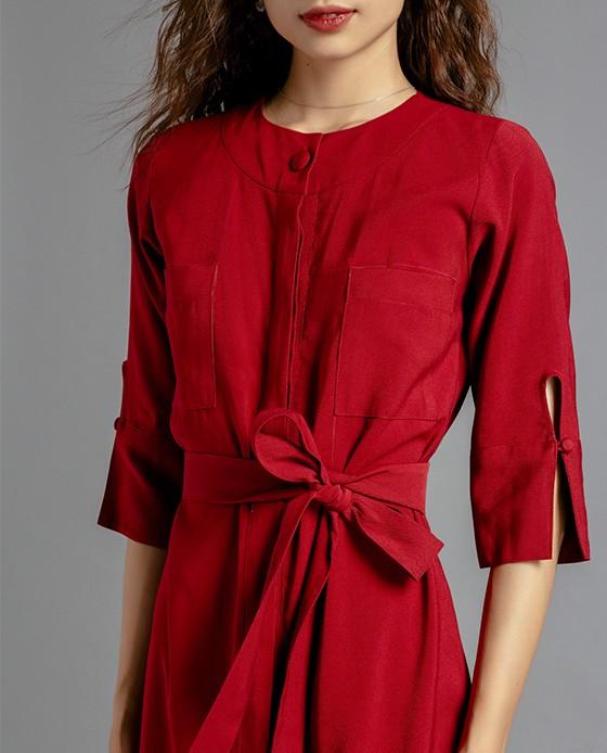 Đầm Suông Kiểu Đầm Sơ Mi | Thời trang thiết kế Hity