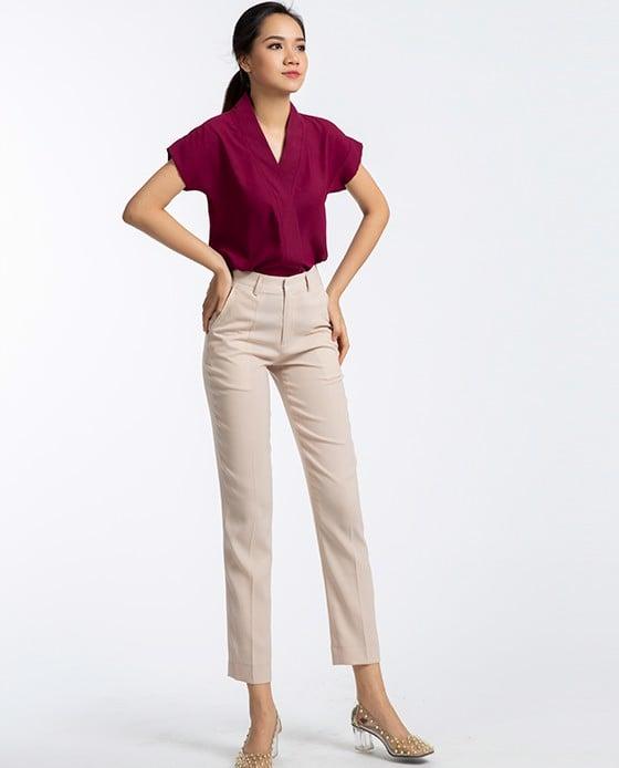 Quần Tây Ống Đứng Nữ Thanh Lịch   Thời trang thiết kế Hity