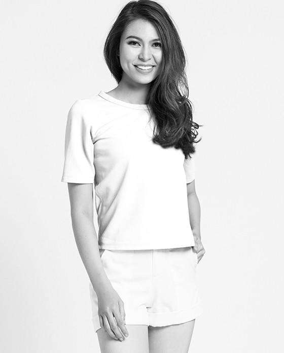 Áo Kiểu Phông Nữ Phối Voan | Thời trang thiết kế Hity