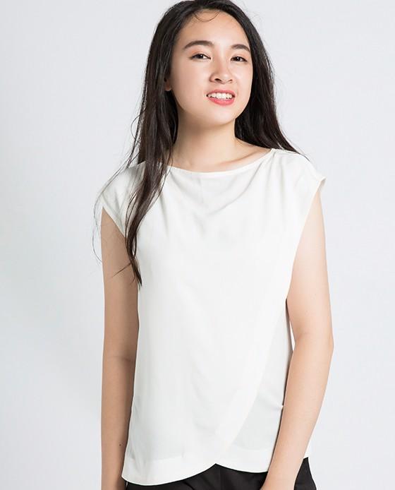 Áo Kiểu Thời Trang Đắp Vạt | Thời trang thiết kế Hity