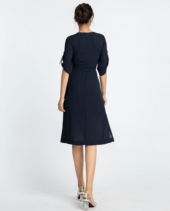 Đầm Suông Đầm Midi Thanh Lịch | Thời trang thiết kế Hity