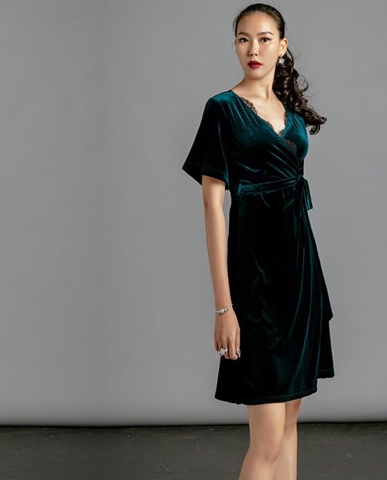 Đầm Nhung Tuyệt Đẹp Đầm Đi Tiệc | Thời trang thiết kế Hity