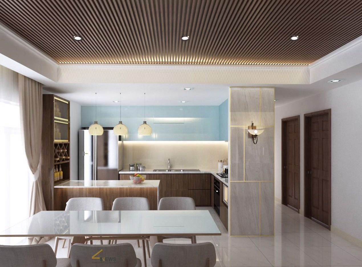 Thiết kế thi công nội thất sang trọng căn hộ Lucky Palace Q.6