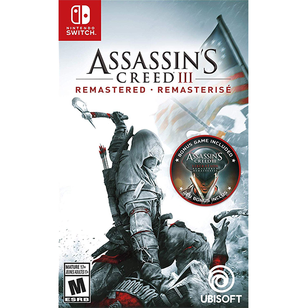Assassin's Creed III Remastered cho máy Nintendo Switch