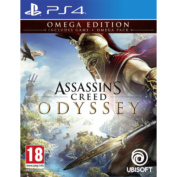 Assassin's Creed Odyssey Omega Edition cho máy PS4
