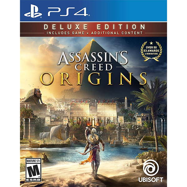 Assassin's Creed Origins Deluxe Edition cho máy PS4