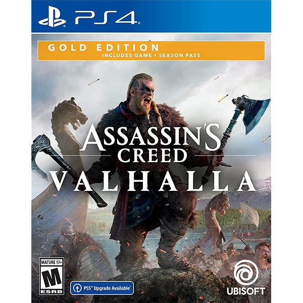 Assassin's Creed Valhalla Gold Edition cho máy PS4