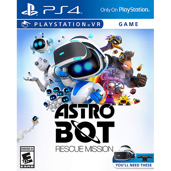 Astro Bot Rescue Mission cho máy PS VR