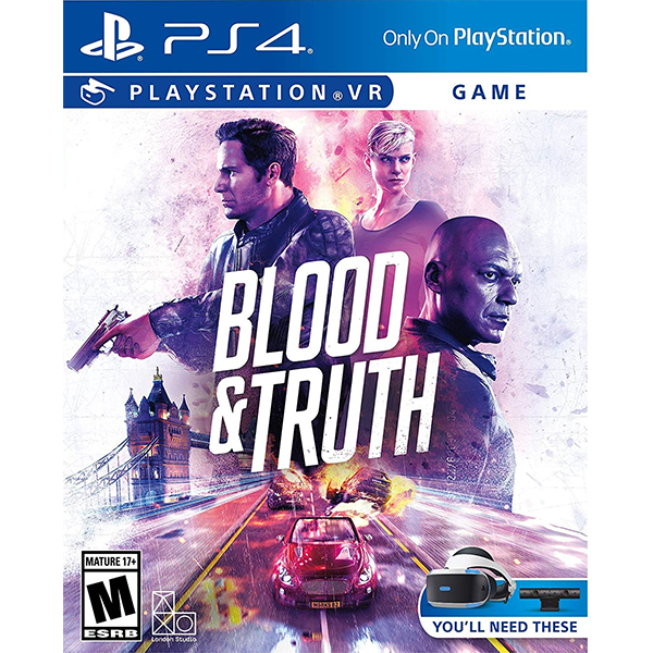 Blood & Truth cho PSVR