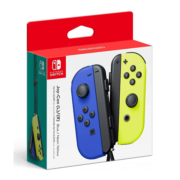 Tay cầm Joy-Con - Neon Blue/Neon Yellow Set