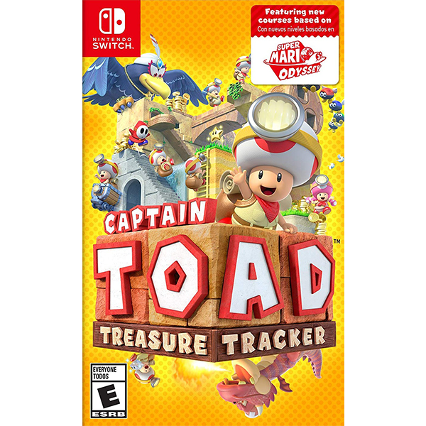 Captain Toad Treasure Tracker cho máy Nintendo Switch