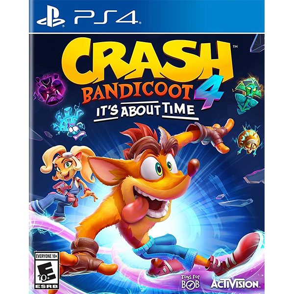 Crash Bandicoot 4 It's About Time cho máy PS4