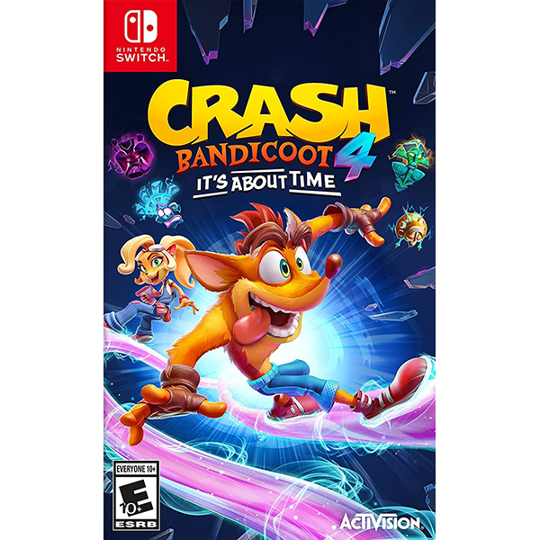 Crash Bandicoot 4 It's About Time cho máy Nintendo Switch