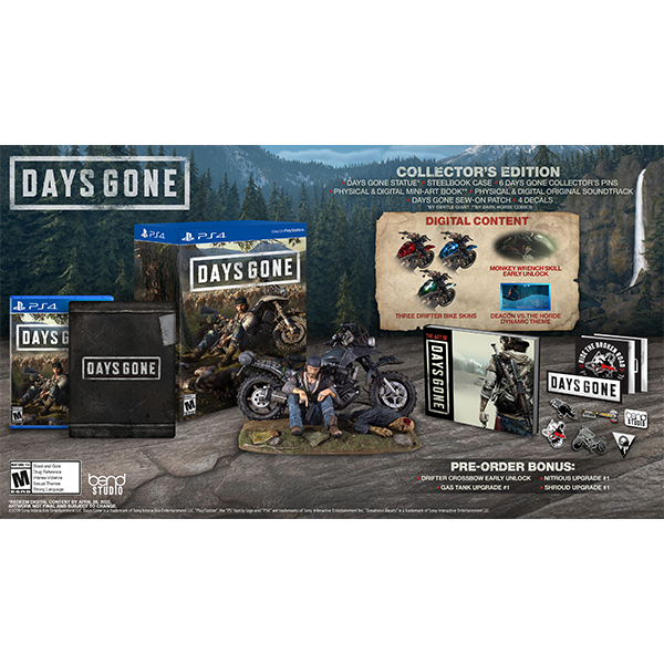Days Gone Collector's Edition cho máy PS4