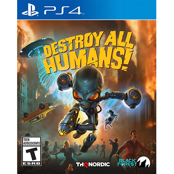 Destroy All Humans! cho máy PS4