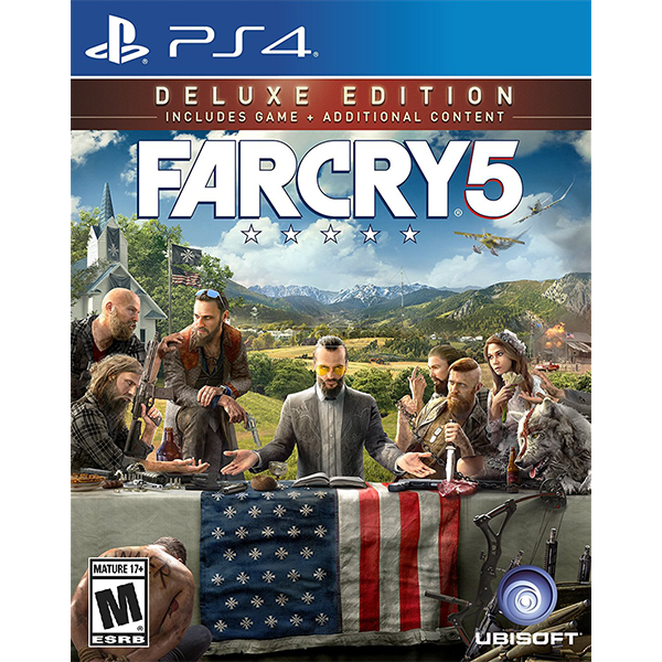 Far Cry 5 Deluxe Edition cho máy PS4
