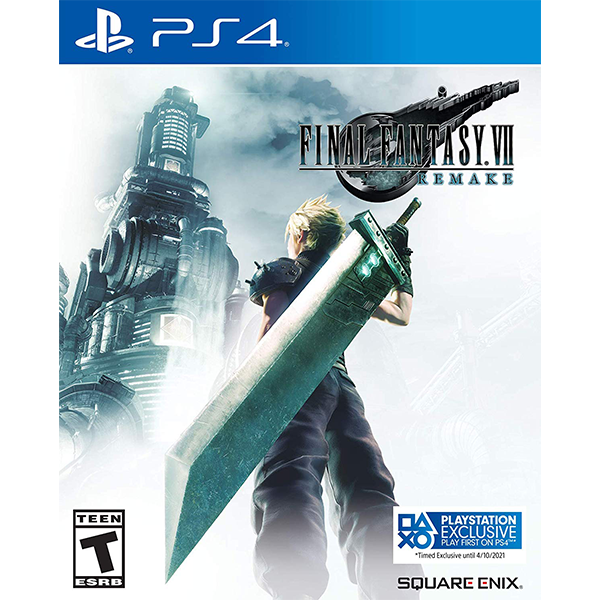 Final Fantasy VII Remake cho máy PS4