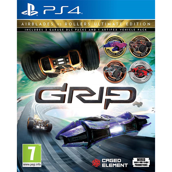 GRIP Combat Racing Roller VS Airblades Ultimate Edition cho máy PS4