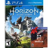 PS4 Horizon Zero Dawn Và DriveClub