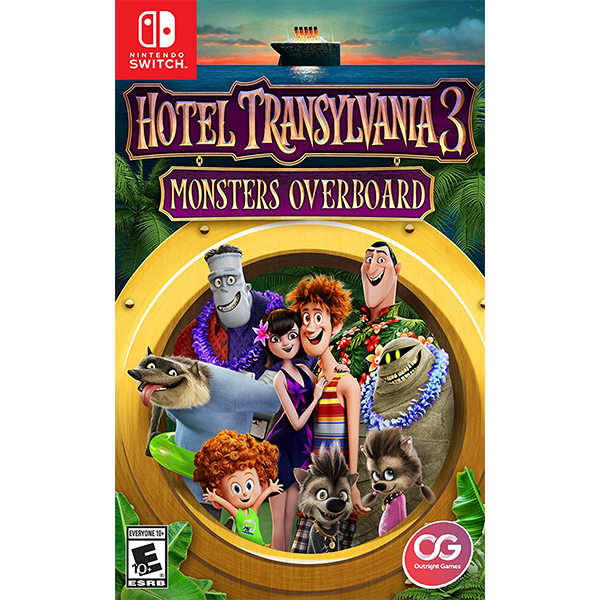 Hotel Transylvania 3 Monsters Overboard cho máy Nintendo Switch
