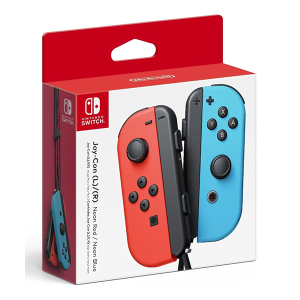 Tay cầm Joy-Con Controllers - Neon Red/Neon Blue Set