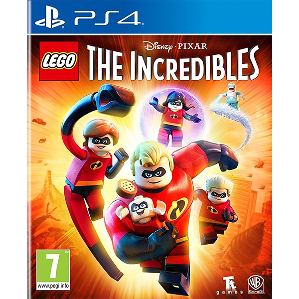 LEGO The Incredibles cho máy PS4