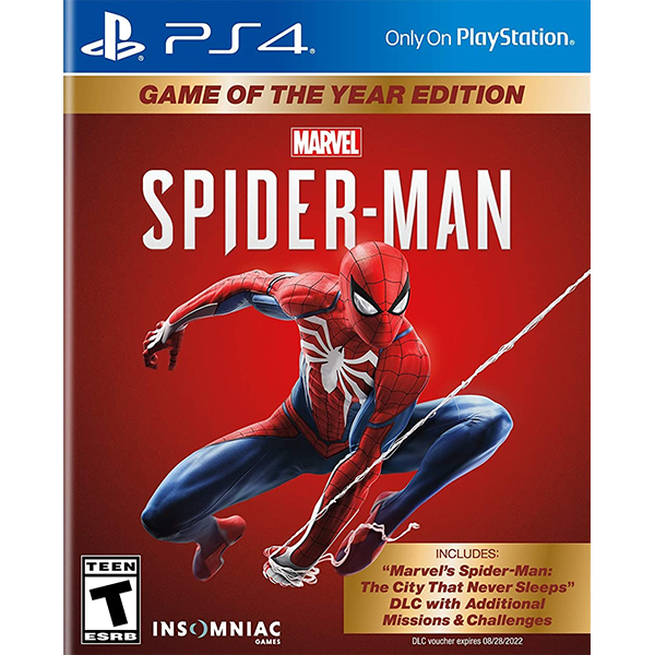 Marvel's Spider-Man Game Of The Year Edition cho máy PS4