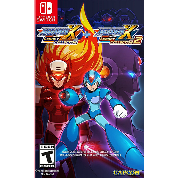 Mega Man X Legacy Collection 1 + 2 cho máy Nintendo Switch