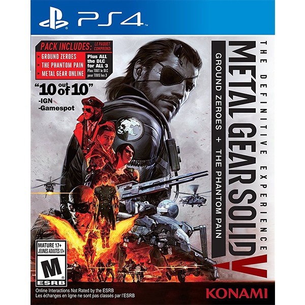 Metal Gear Solid V The Definitive Experience cho máy PS4