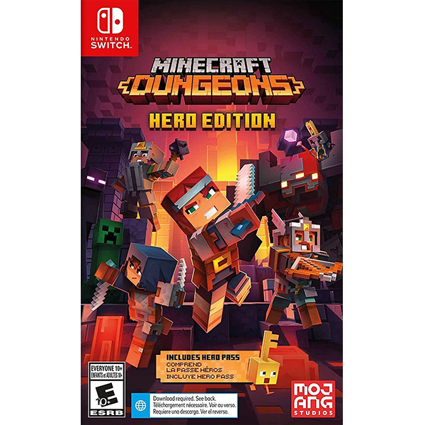 Minecraft Dungeons Hero Edition cho máy Nintendo Switch