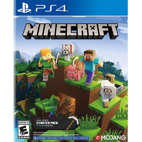 Minecraft Starter Collection cho máy PS4