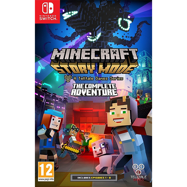Minecraft Story Mode The Complete Adventure cho máy Nintendo Switch