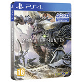 PS4 Monster Hunter World Steelbook Edition
