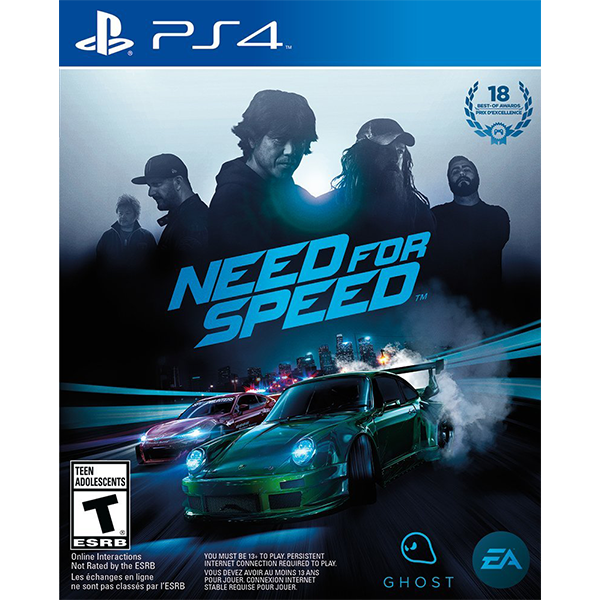 Need For Speed cho máy PS4