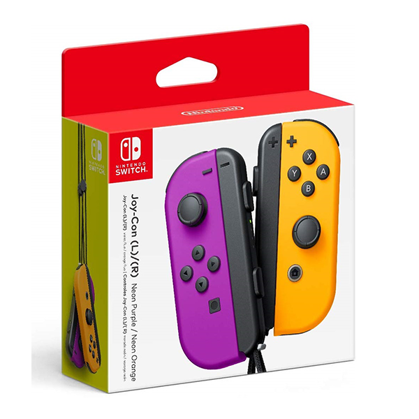 Tay cầm Joy-Con - Neon Purple/Neon Orange Set