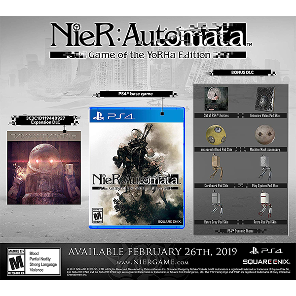 Nier Automata Game Of The Yorha Edition cho máy PS4