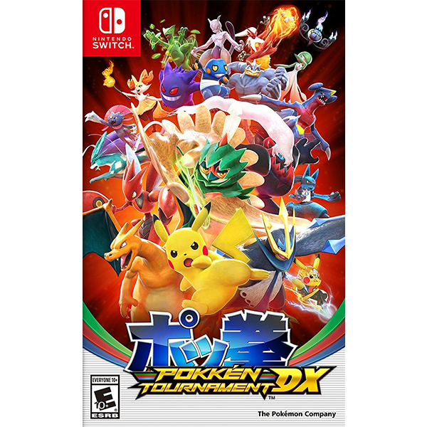 Pokkén Tournament DX (2nd) da qua su dung