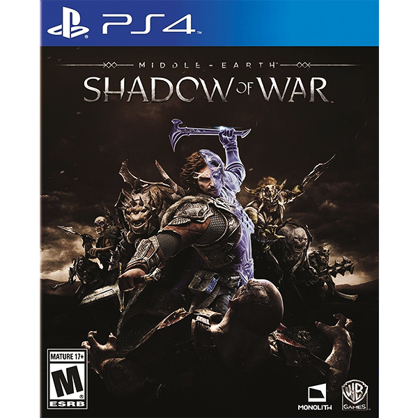 Middle-Earth Shadow Of War cho máy PS4
