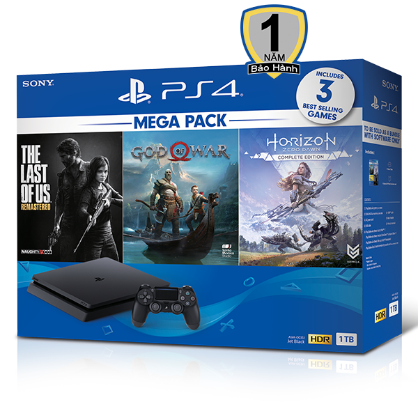 PS4 Slim Mega Pack CUH-2218