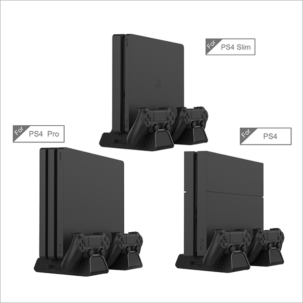 PS4 Slim Pro Charging & Cooling Stand